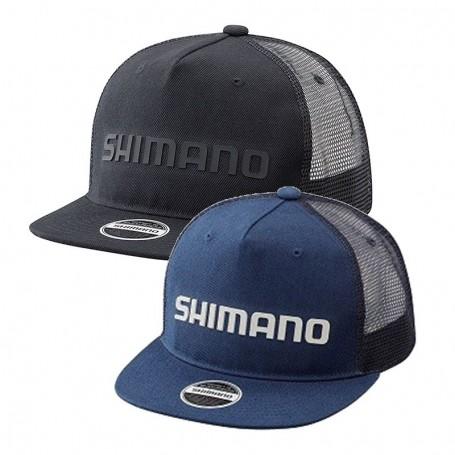Flat Brim Mesh Cap - SHIMANO