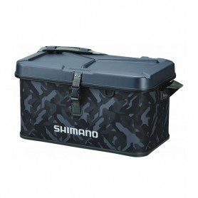 Hard EVA Tackle Bag Camouflage - SHIMANO