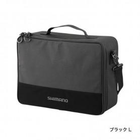 SHIMANO REEL POUCH BLACK L