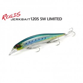 DUO REALIS JERKBAIT 120S SW LIMITED