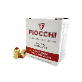 FIOCCHI CAL. 380 MATTAZIONE RED EXTRA STRONG