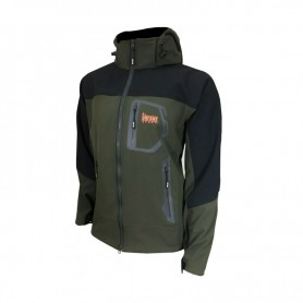 SAFARI GIACCA SOFTSHELL VERDE ART. SG01