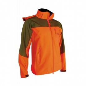 SAFARI GIACCA SOFTSHELL ORANGE ART. SG01