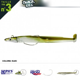 FIIISH BLACK EEL N.3 150 SIMPLE COMBO OFF SHORE 40 GR