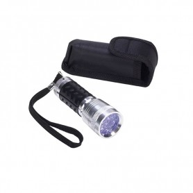 STORM RIDER FLASHLIGHT 14 LED UV