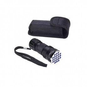 STORM RIDER FLASHLIGHT 21 LED UV