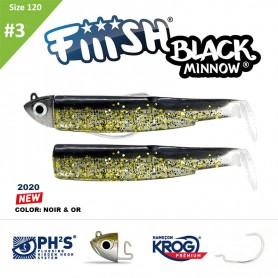 FIIISH BLACK MINNOW 120 N.3 COMBO SHORE 12 GR