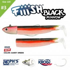 FIIISH BLACK MINNOW 120 N.3 COMBO OFF SHORE 25 GR