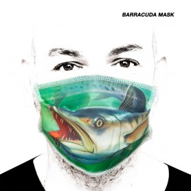 Fishing Barracuda Mask