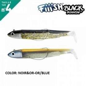 FIIISH BLACK MINNOW 140 N.4 DOUBLE COMBO OFF SHORE 40 GR