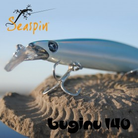 Seaspin Buginu 140, Artificiali Hard Lures Seaspin