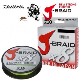 Trecciato Dyneenema Daiwa X8 J-Braid