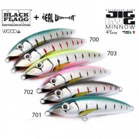 Jigg Minnow SW - Black Flag
