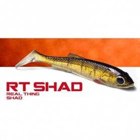 Molix RT Shad 3.5″ - Soft Swimbait Black Bass