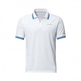 Polo Shirt Short Sleeve White - SHIMANO