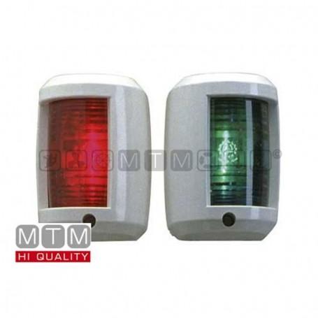 Fanale luci di via rosso e verde