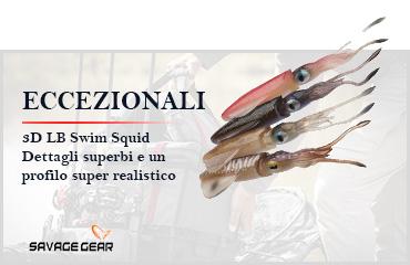 3d Lb Swim Squid